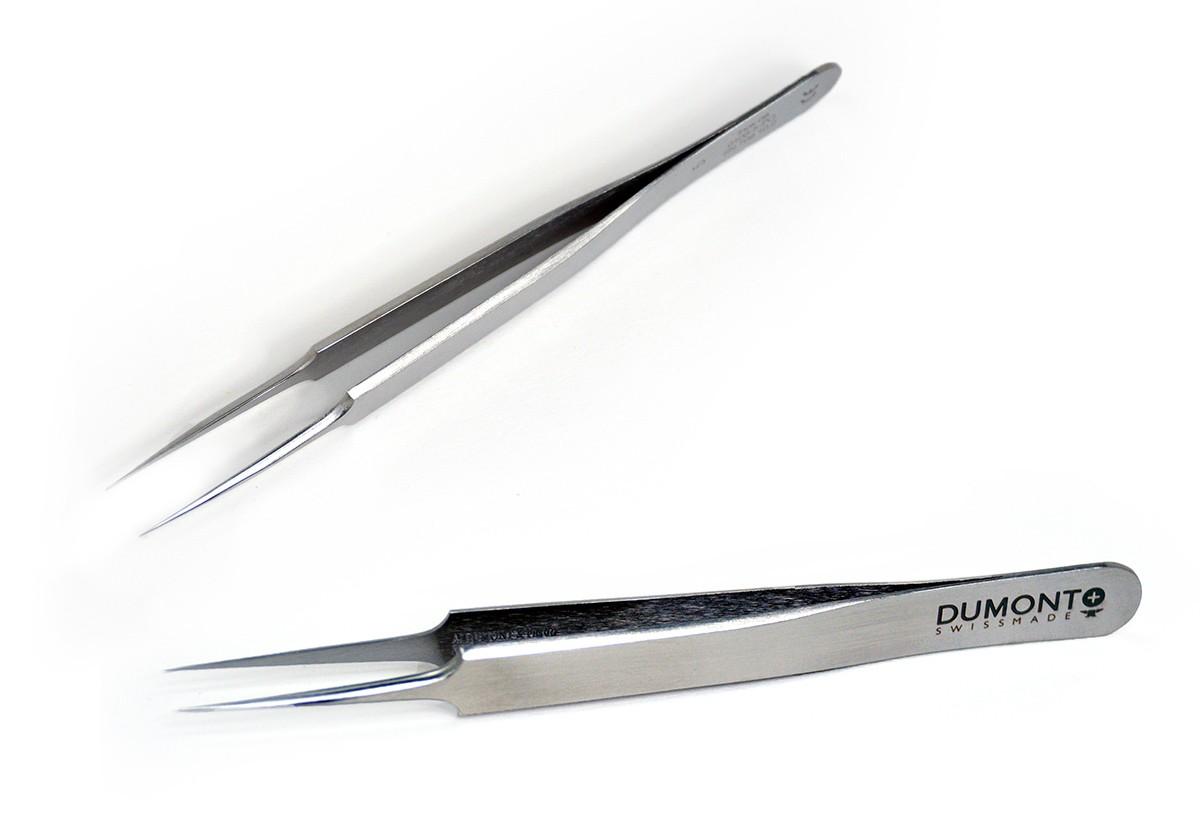 Tweezers, 5 Dumont INOX, standard tip