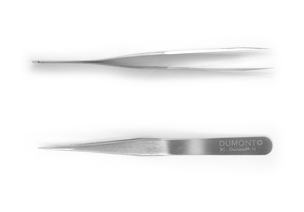 Tweezers, 3C Dumont INOX, non-magnetic, standard tip