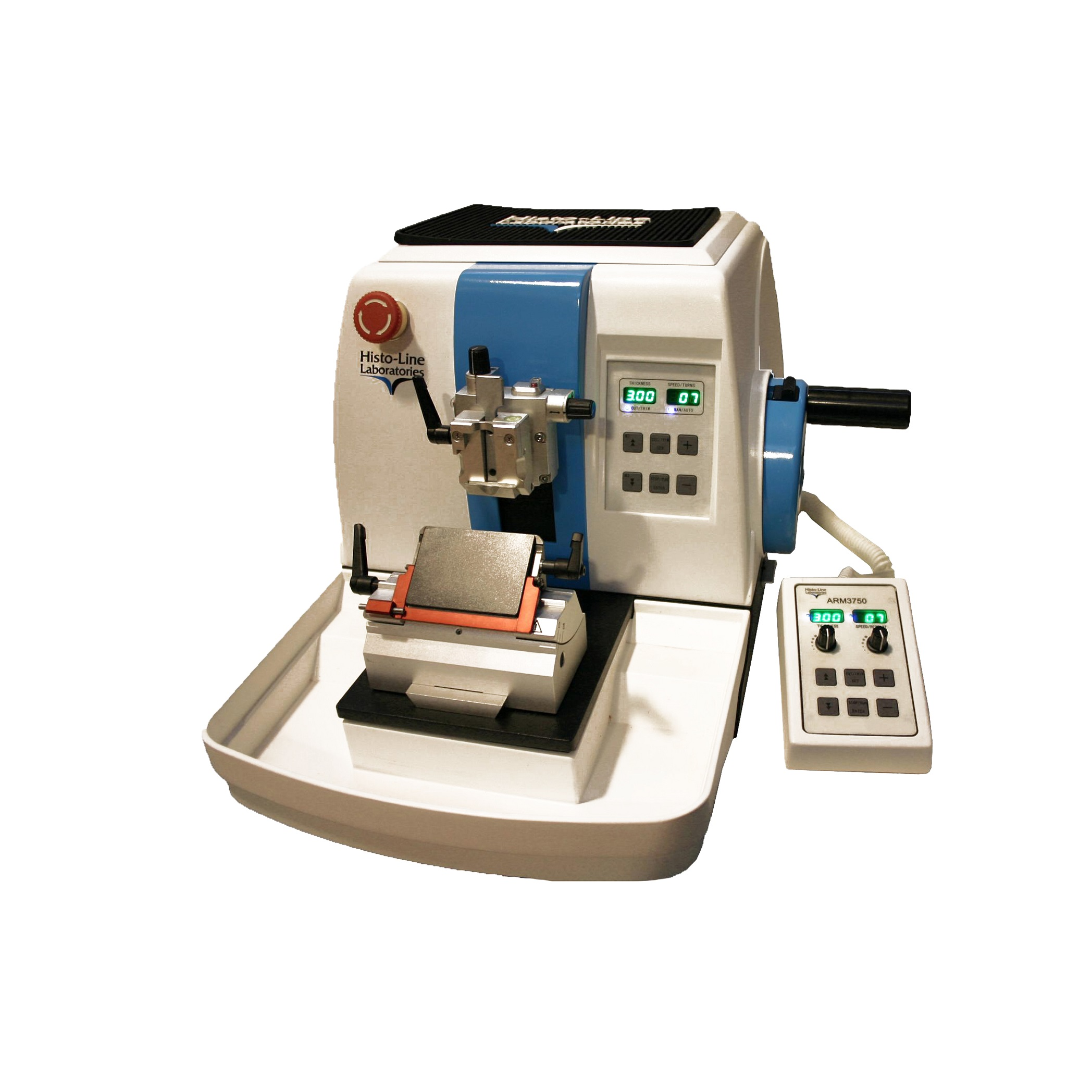 Fully Motorized Rotary microtome programmable